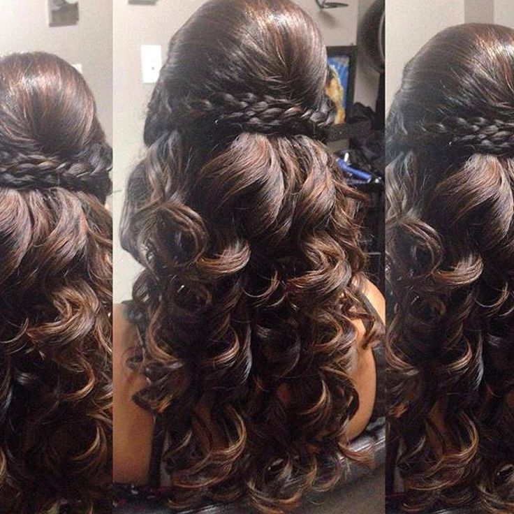 Hairstyles for curly hair in saree - Hairstyles for curly hair in saree #curly - # ...