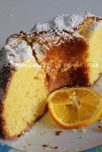CIAMBELLA ALL'ARANCIA di anna moroni I manicaretti di nonna Lella http://blog.giallozafferano.it/graziagiannuzzi/ciambella-allarancia-anna-moroni/