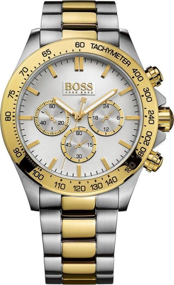 Elegant og klassisk herreur fra Hugo Boss Black serien - Hugo Boss Ikon Chronograph 1512960