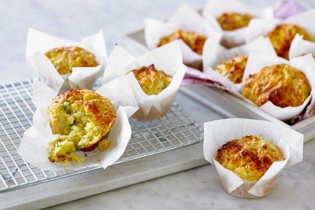 Cauliflower cheese muffins main image