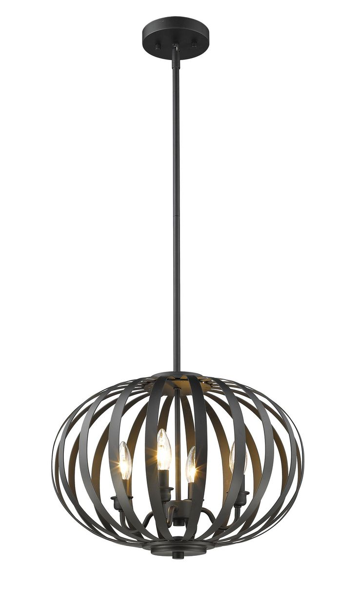 Moundou 4 Light Globe Pendant