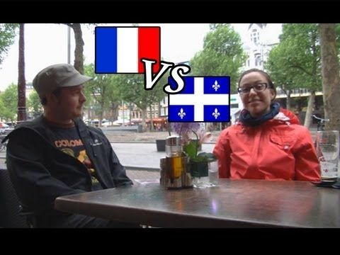 Differences between French in Quebec and France: accent, attitude and even curse…