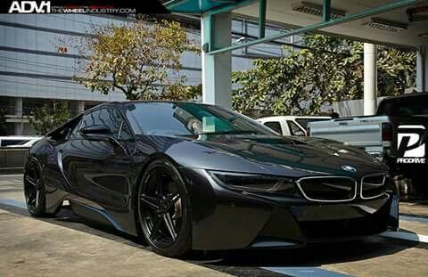 matte black bmw i8 cars pinterest cars black and wheels. Black Bedroom Furniture Sets. Home Design Ideas