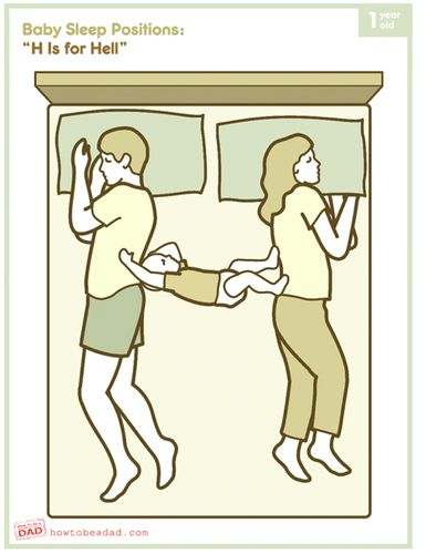 Humor: The Truth About Co-Sleeping With Kids (PHOTOS)