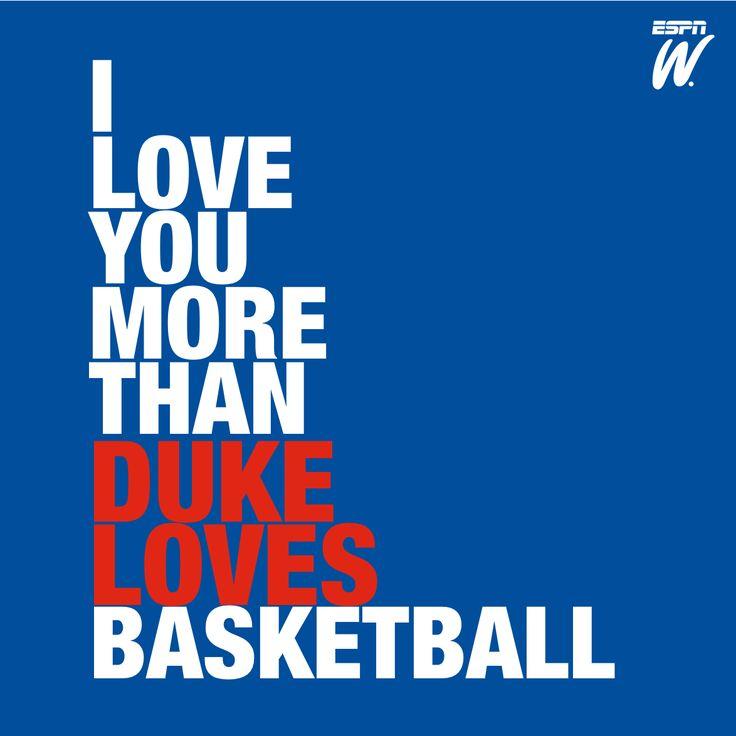 True love. Basketball. #duke #basketball