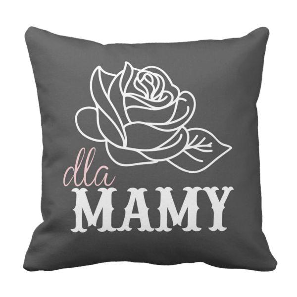 Poduszka Róża Dla Mamy Dzień Matki pod-6225 | Poduszki \ Dzień Matki Poduszki \ Dzień Matki | Tytuł sklepu zmienisz w dziale MODERACJA \ SEO