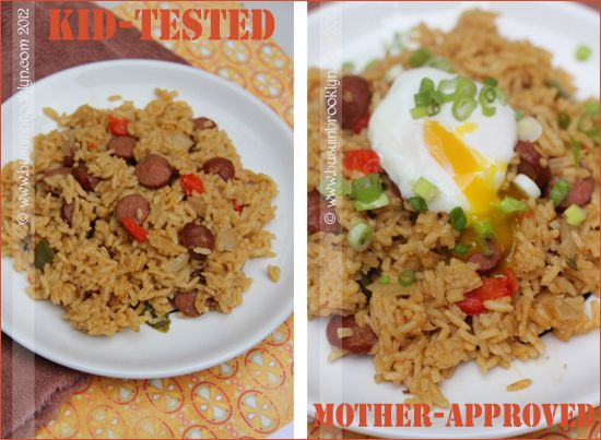 Busy in Brooklyn » Blog Archive » Kid-Friendly Dirty Rice