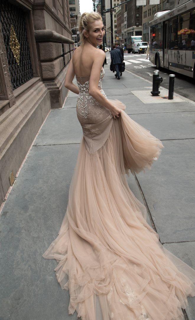 Inbal Dror New York Collection. For more wedding dress inspiration, visit http://www.boutiquebridalconcepts.com/suppliers/wedding-dresses  #wedding #weddingdresses