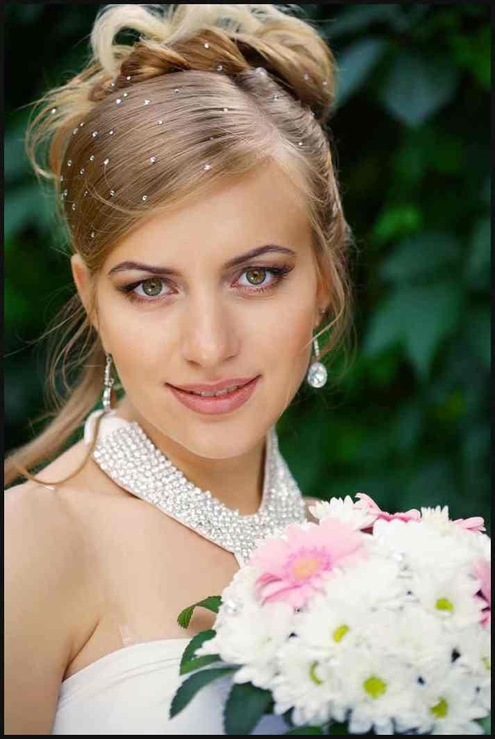Brautfrisuren Offen Halboffen Hochgesteckt Ideen Und