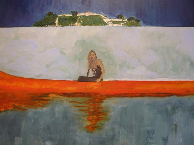 100 years ago -Peter Doig