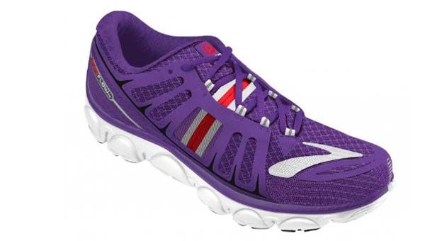 Purple Brooks Running Shoes For Women Outfit