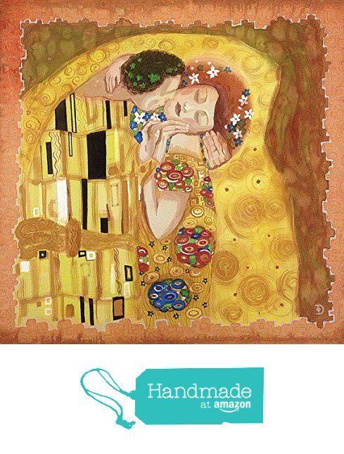 Il bacio. Foulard dipinto a mano da La Farfalla creazioni https://www.amazon.it/dp/B01N7THMBN/ref=hnd_sw_r_pi_dp_kK4FybQSV5KPM #handmadeatamazon