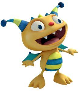 henry hugglemonster | henry hugglemonster el monstruito feliz