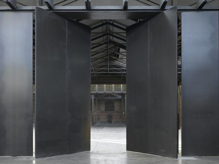 Nave 16 Matadero Madrid / ICA Arquitectura corte4 – Plataforma Arquitectura