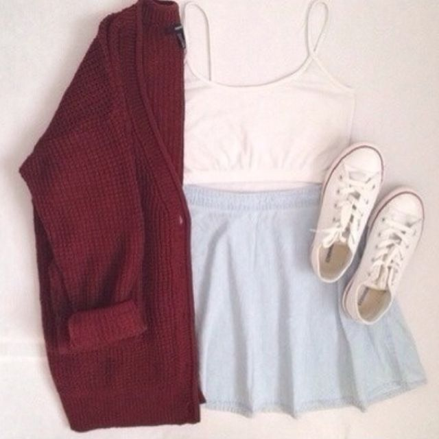 Where can I get a maroon colored sweater|cardigan ? Besides brandy Melville