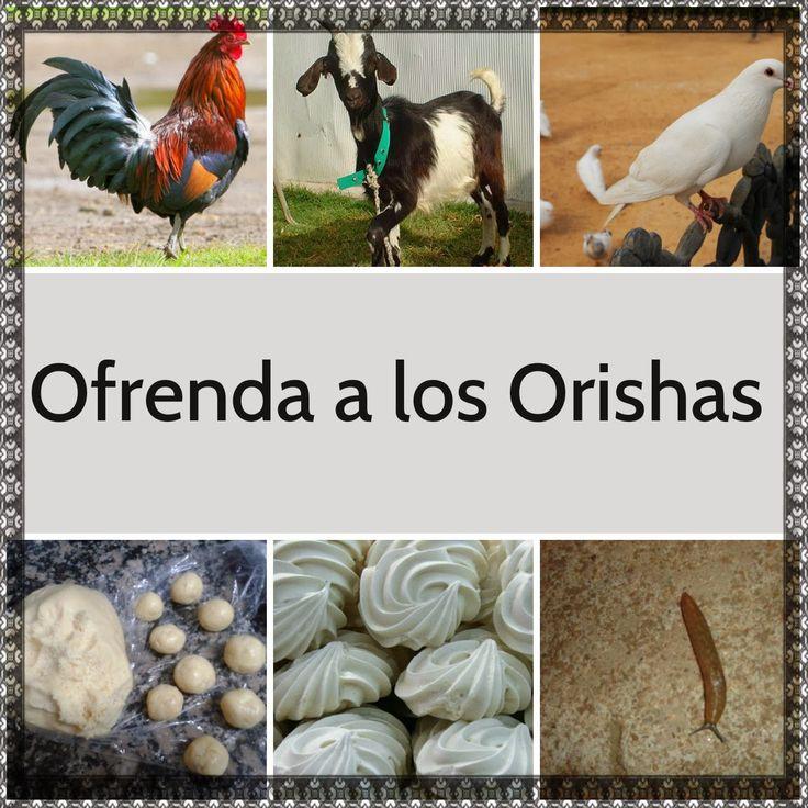 OFRENDA A LOS ORISHAS