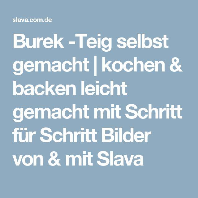 Burek -Teig selbst gemacht | kochen & backen leicht gemacht mit Schritt für Schritt Bilder von & mit Slava