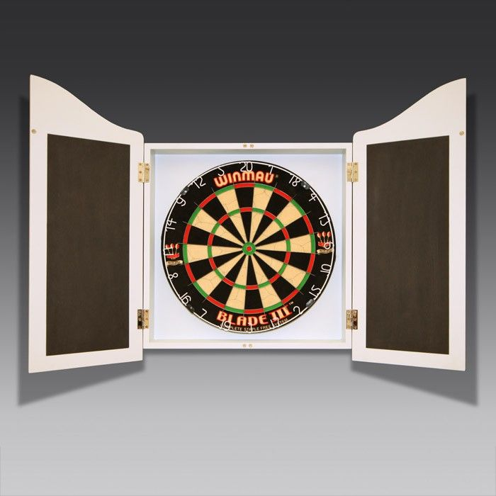 If you love darts, you'd love storing your kit in this handmade cabinet - and you can choose the exact paint colour to match your home, too