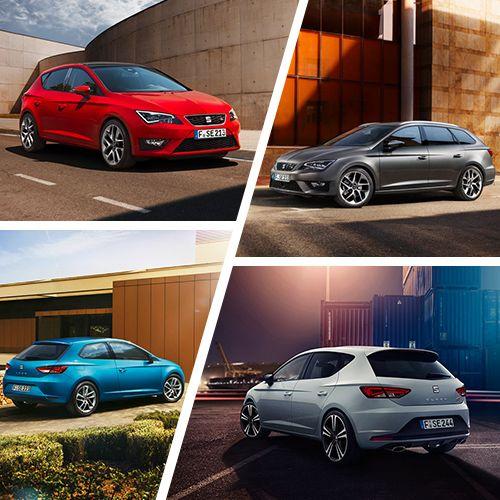 Tolles Design, modernste Technologie und ein Höchstmaß an Qualität: Das ist unsere #SEAT Leon Modellpalette. Welcher SEAT #Leon Typ bist du?