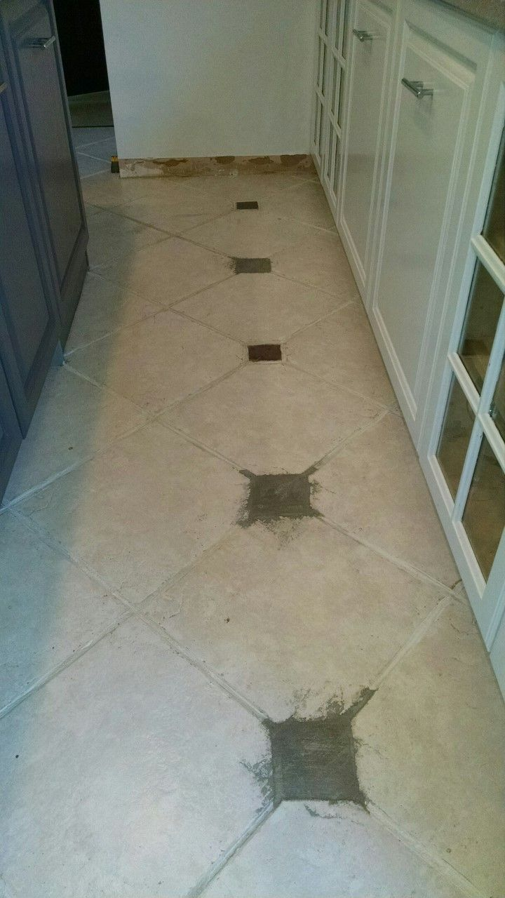 LVT Flooring Over Existing Tile the Easy Way - Vinyl Floor Installation DIY | Vinyl flooring kitchen. Vinyl tile flooring. Vinyl flooring