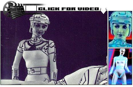 Cindy Morgan - TRON (1982)  Designer: Syd Mead / Dean Edward Mitzner (production design) Nedra Rosemond-Watt (women's costume)