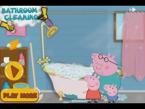 Peppa Pig Cleaning Day   Cool Kid Peppa Pig Game