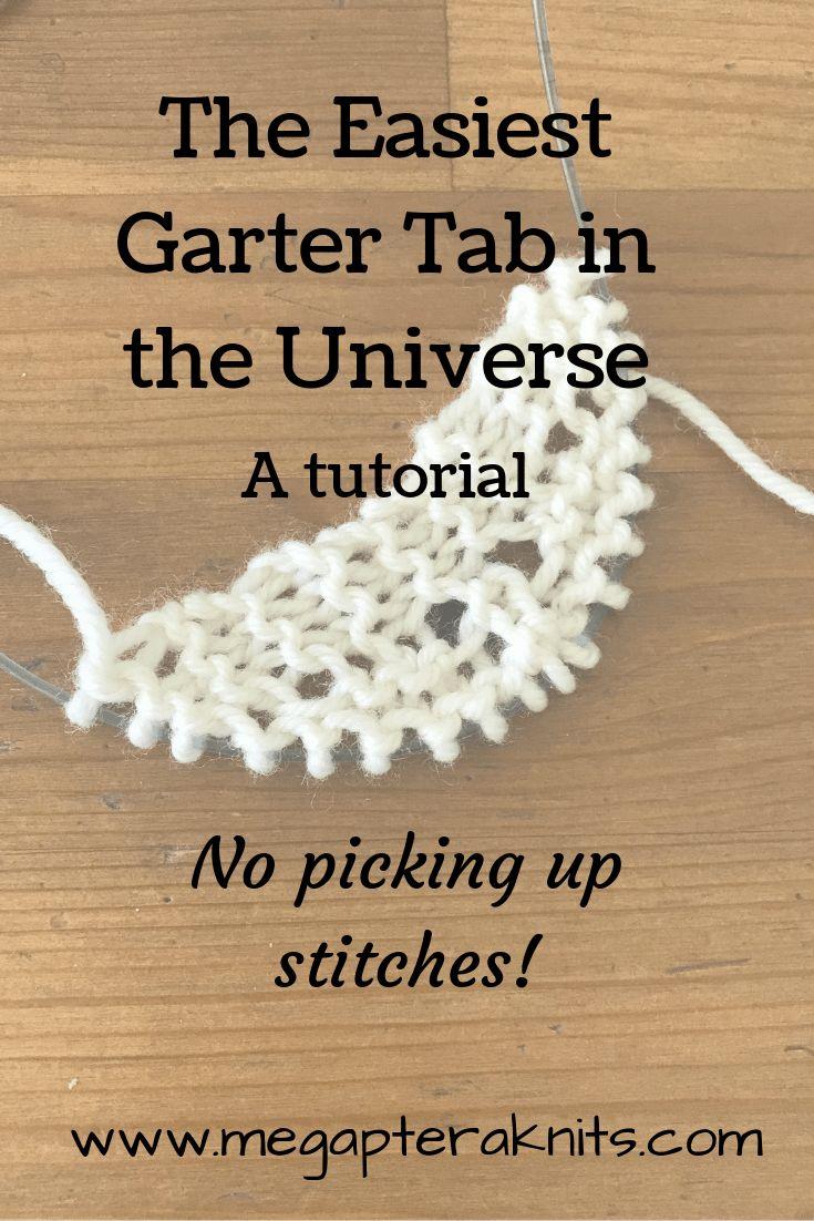Knitting Garter Tab Wool Yarn Needles In 2021 Cast On Knitting Knitting Tutorial Knitting Techniques