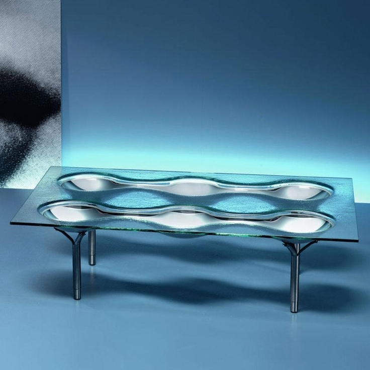 Konx Glass Coffee Table