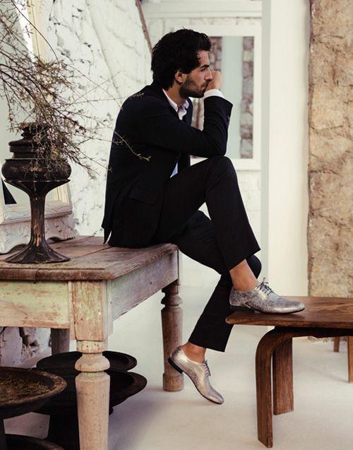 Alberto Guardiani at Pitti Immagine UOMO 86