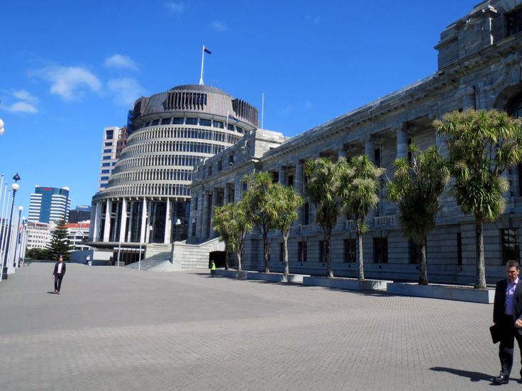 Wellington Parliament - The Beehive
