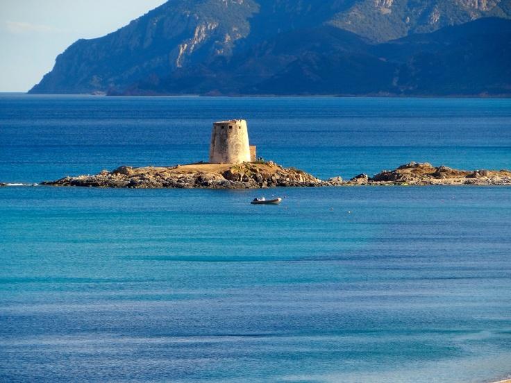 The wonderful Bari Sardo tower located in Ogliastra, Sardinia. By Soha Sardinia
