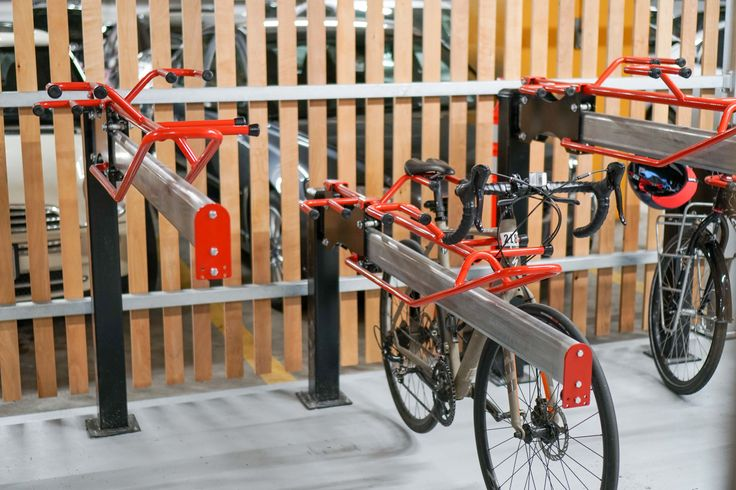 Upgrading the bicycle parking & fitness centre change room facilities #JLL #makecyclingeasy #cycling #endoftrip