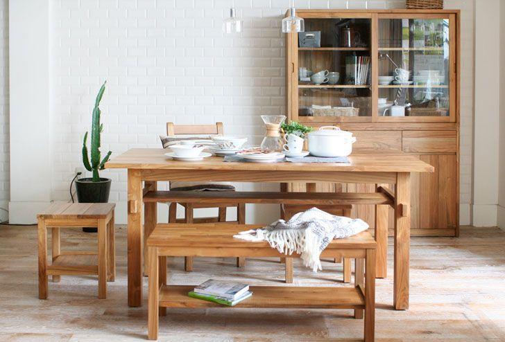 BREATH(ブレス) ダイニングテーブル W1600 | ≪unico≫オンラインショップ:家具/インテリア/ソファ/ラグ等の販売。