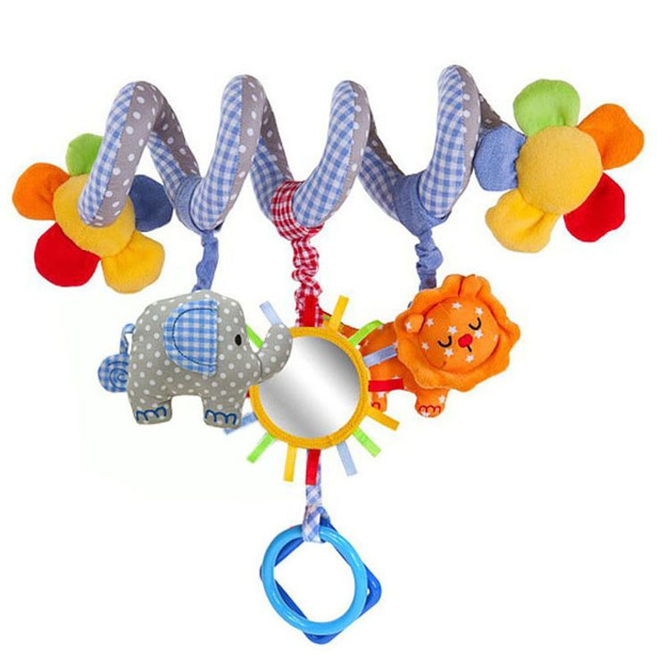 Elephant toy Baby Rattle Mobile