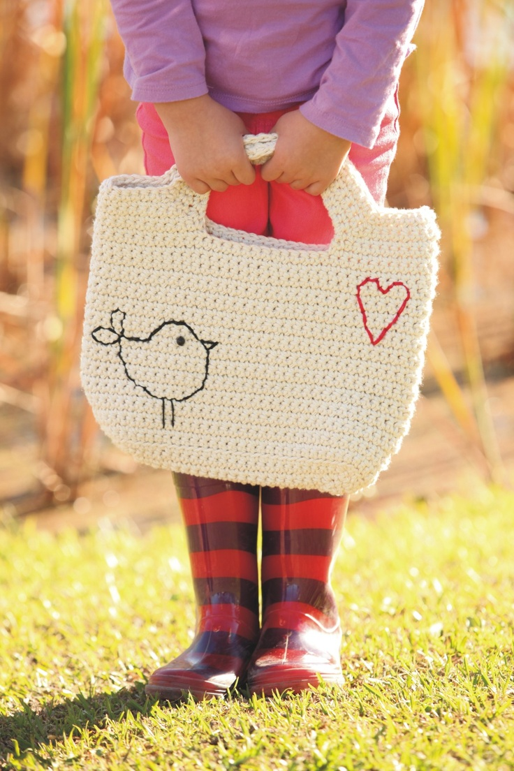 Crochet Girly Bag
