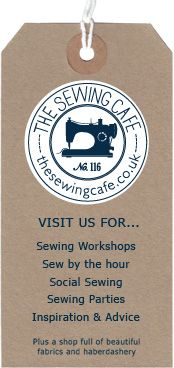 Sewing Cafe Label - attempting my first sewing course