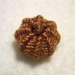 Tutorial - Basket weave over wood bead