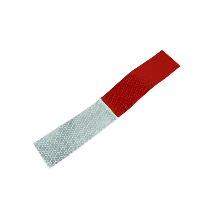 10PCS reflective stickers warning car strip reflective Truck 5*30cm Auto supplies night driving safety secure body red white