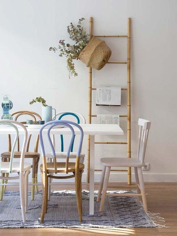 Mejores 16 im genes de escaleras de madera como accesorios for Accesorios decorativos