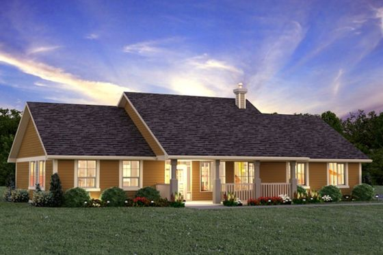 *My favorite plan* 3 bed, 2 bath - vaulted ceilings, open floor plan, attached 2 car garage, patio access from master suite