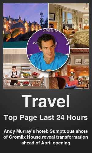 Top Travel link on telezkope.com. With a score of 2431. --- Andy Murray's hotel: Sumptuous shots of Cromlix House reveal transformation ahead of April opening. --- #travelontelezkope --- Brought to you by telezkope.com - socially ranked goodness