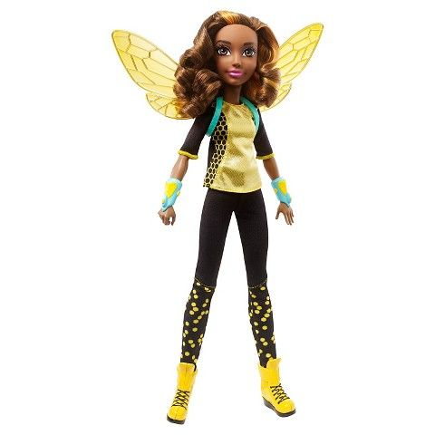 """✓ DC Super Hero Girls Bumble Bee 12"""" Action Doll - $19.99"""