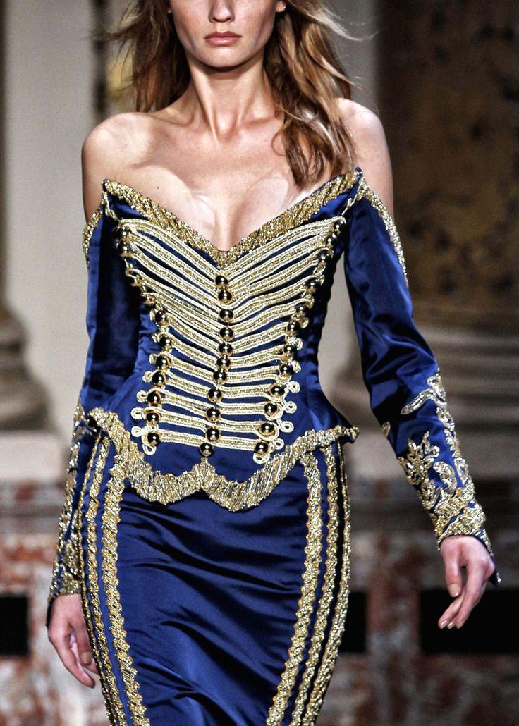 Zuhair Murad - via @kennymilano: Murad Couture, Fashion, Zuhairmurad, Zuhair Murad, Dresses, Royals Blue, Avenu Paris Weird, Haute Avenu, Haute Couture