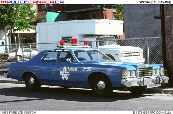 1975 Ford LTD - Montreal Police