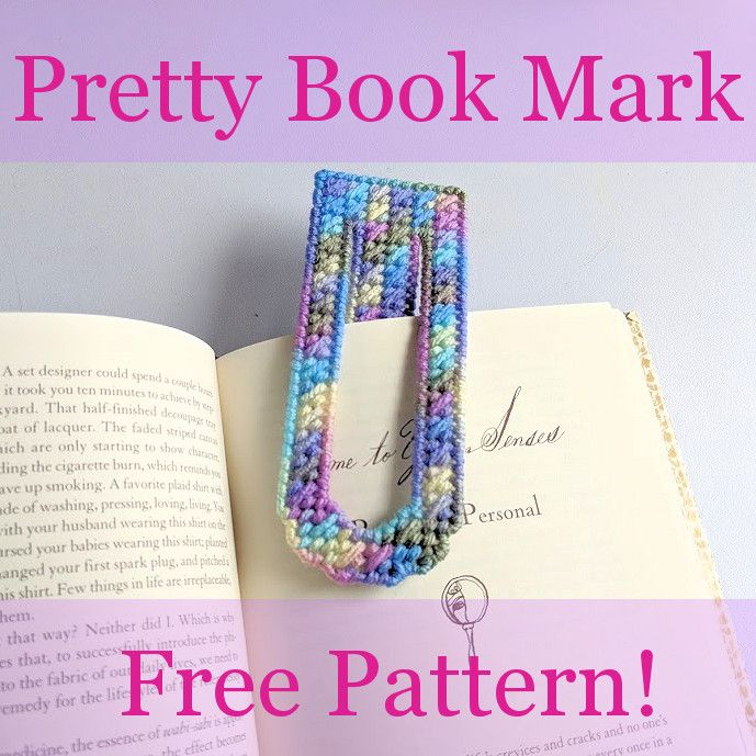 Pretty Book Mark, Free Plastic Canvas Pattern, 1/3