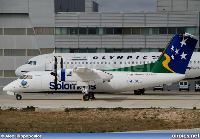 Solomon Airlines   H4-SOL, De Havilland Canada DHC-8-100 Dash 8