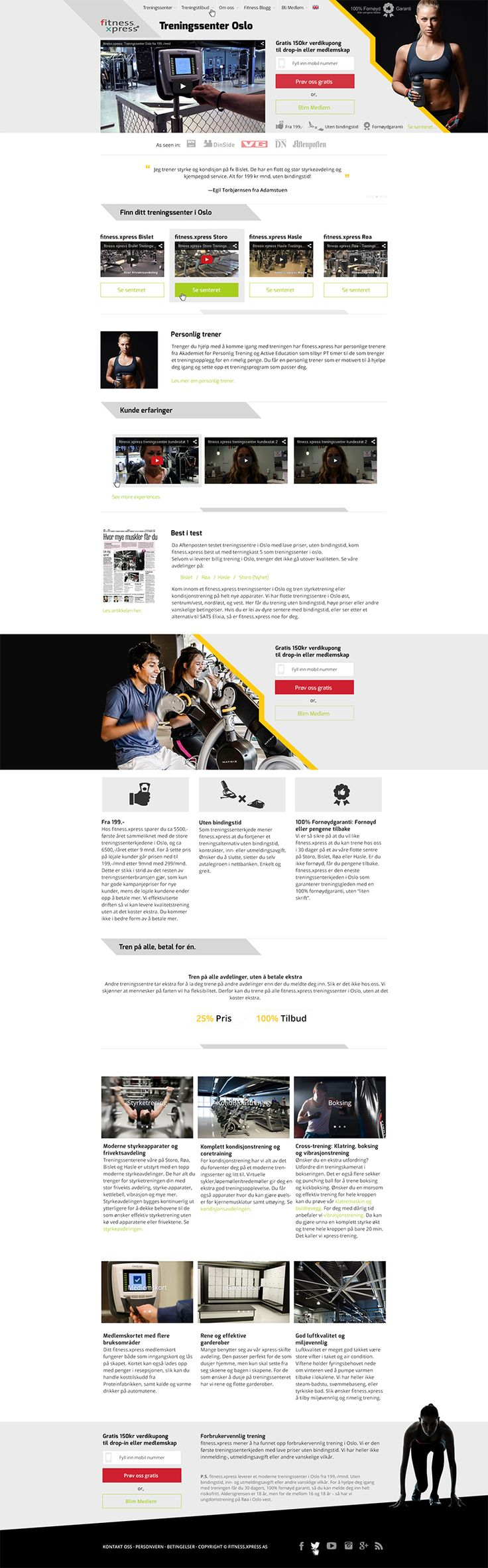 Homepage for Fitness Website — UnfoldAtelier: Boost Sales with Friendly Design