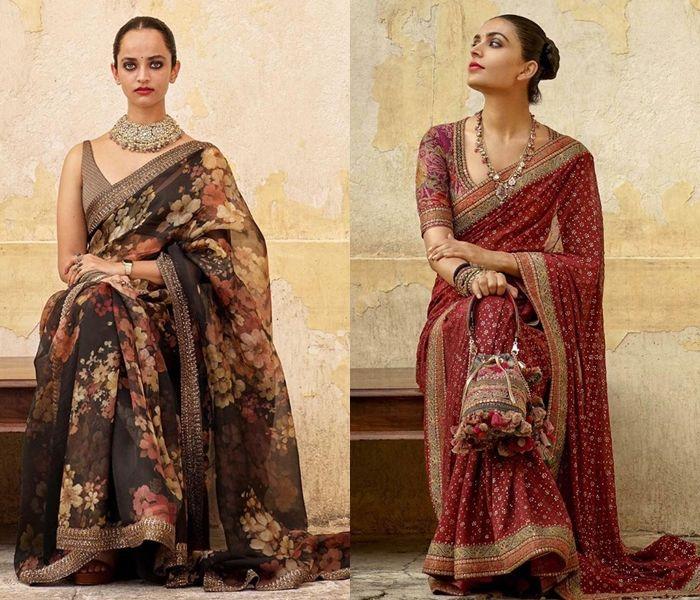 Sabyasachi S Latest Saree Collection 2019 Will Stun You Stylish Sarees Saree Collection Bollywood Saree Blouse Designs