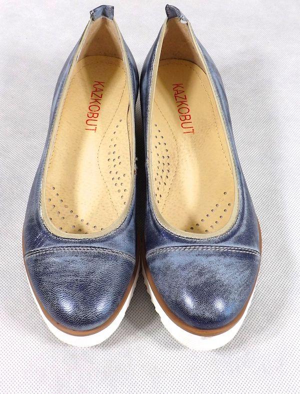 Niebieskie Damskie Czolenka Z Biala Podeszwa Sklep Internetowy Anmaris Chanel Ballet Flats Ballet Flats Shoes