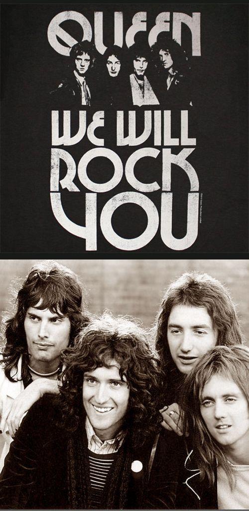 """Queen """"We Will Rock You"""" (1978)"""